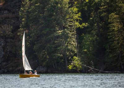 Sailing provided by Twinlow Camp and Retreat Center