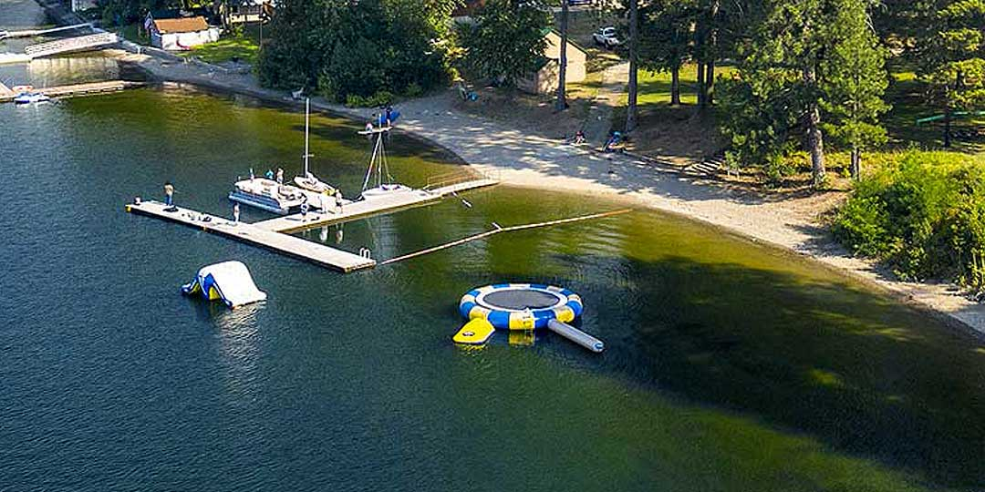 Floating Trampoline